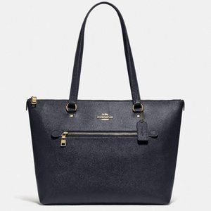 NWT Coach Midnight Blue Gallery Tote